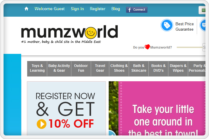 فروشگاه اینترنتی MumzWorld